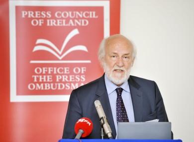 Press Ombudsman John Horgan