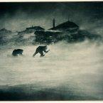 Blizzard at Cape Denison, Antarctica, circa 1912. (Image: Frank Hurley)