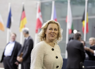 Finland's Finance Minister, Jutta Urpilainen