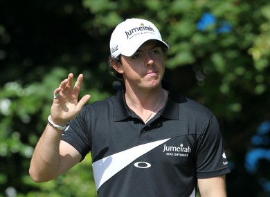 Rory McIlroy: back to the drawing board.