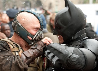 Bane is the guy on the left...