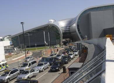 Taxis at Dublin Airport's Terminal 2 (File photo)