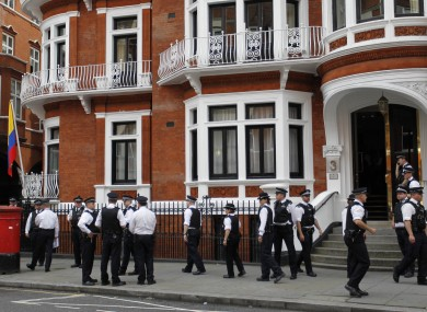 Assange faces boredom and stress as embassy standoff continues