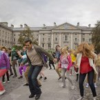 Coordinated group dance sequences are a trademark of the Bollywood film industry. (Photo: Tourism Ireland)