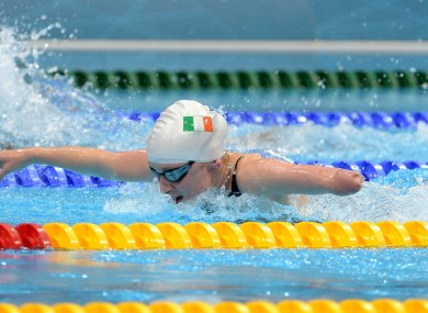 Ireland's Ellen Keane.