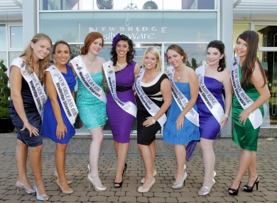 Some of the contestants in this year's contest