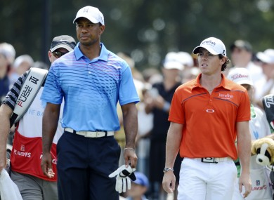 McIlroy and Woods have both showed close to their best form of late.