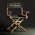 Pierce Brosnan's folding director's chair from the Goldeneye set and a clapperboard used on set are in one lot. Reserve: €900 - 1,300