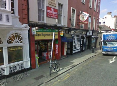 The post office in Bon Espresso & News on Dublin's Merrion Row (File photo)