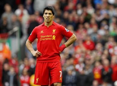 Luis Suarez's behaviour has been less than admirable since his arrival in the Premier League.