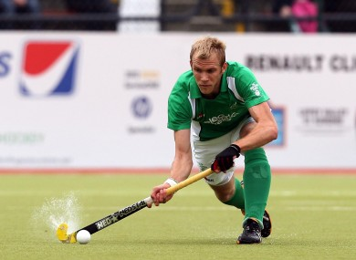 Conor Harte was on target for Ireland (file photo).