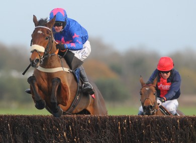 Cue Card: can he get the new season off to a winning start in the Haldon Gold Cup today?