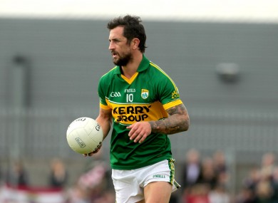 Paul Galvin in action for Kerry this summer
