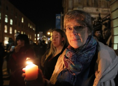 Nora Pelizzari and other pro-choice activists held a series of demonstrations in Dublin last month following the death of Savita Halappanavar.