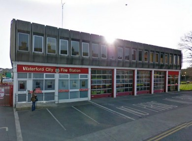 Waterford City Fire Station's current building.