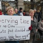 'Serving time for no crime', says carers. (Niall Carson/PA Wire)