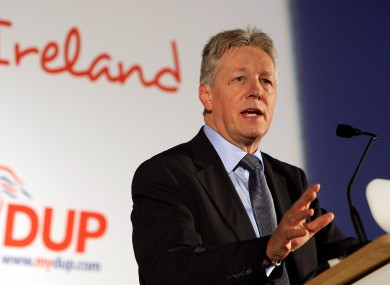 Peter Robinson (File photo)