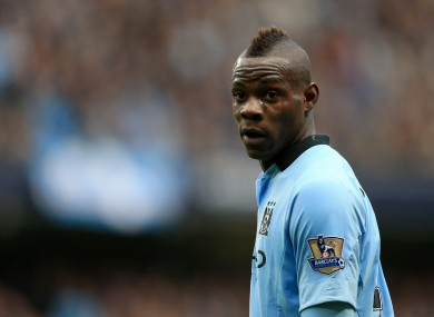 new product 6881c 5b36a Case closed: Mario Balotelli accepts City fine · The42