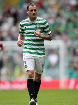 Anthony Stokes: talked with manager Neil Lennon.