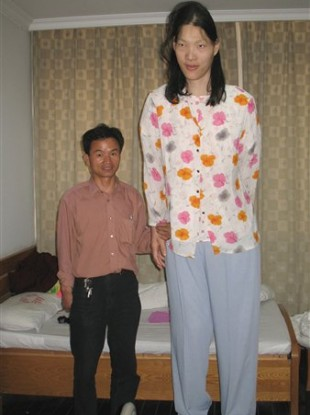 Yao Defen stood at 7 feet and 8 inches tall.
