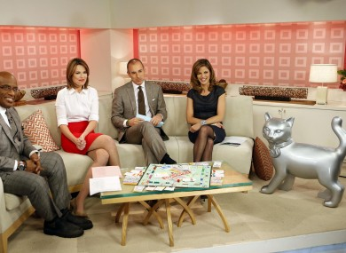 The hosts of NBC's 'Today' show announced the winner of a global poll to pick the new Monopoly token: a cat.
