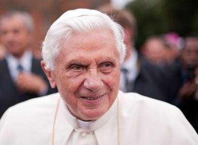 Pope Benedict XVI (file photo)