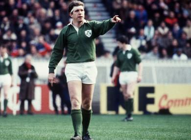Fergus Slattery directs operations for Ireland.