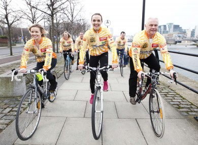 British Olympic gold medallist Victoria Pendleton in Dublin this week for the Irish Cycling Show