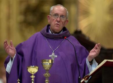 Pope Francis - aka the Bishop of Kilfenora.