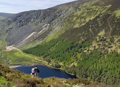 File photo of the Wicklow mountains.