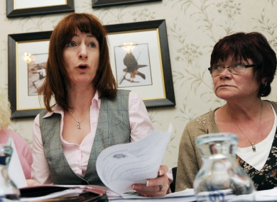 Clare Daly (left) and Joan Collins are set to launch a new political party in the coming weeks