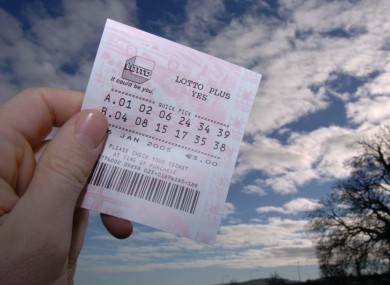 Don't throw away your Lotto ticket: you might have won big