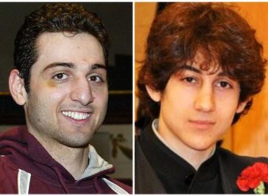 Tamerlan Tsarnaev, 26, left, and Dzhokhar Tsarnaev, 19, right.