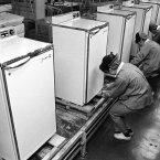 Matsushita Electric Appliances Company Totsuka factory in Japan in 1965. (AP Photo/Nobuyuki Masaki)