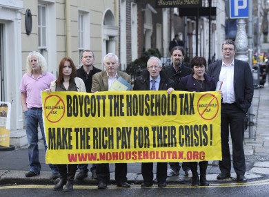 Campaign Against Household and Water Taxes
