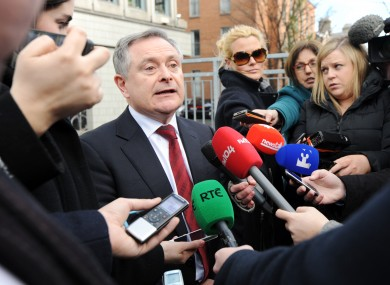 Brendan Howlin hopes unions will adopt the Haddington Road agreement, to cut public pay by €1 billion by 2015.