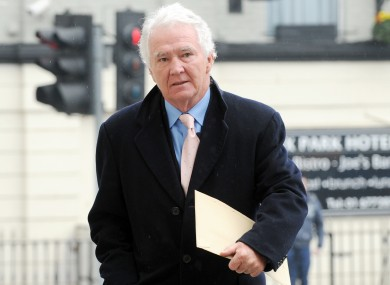 Former Chairman and Chief Executive of the now defunct Anglo Irish Bank, Sean Fitzpatrick