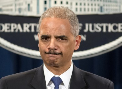 US Attorney General Eric Holder is questioned about the story today