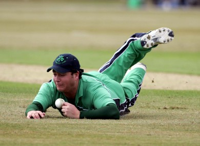 Ryder in action for Ireland in 2007.