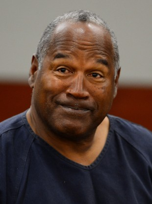 OJ Simpson appears for the second day of an evidentiary hearing in Las Vegas