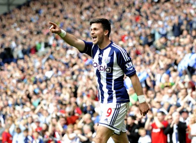 Shane Long has had a fine season with West Brom.