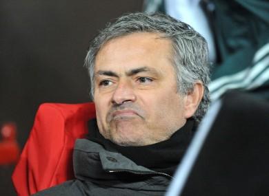 Real Madrid manager Jose Mourinho.