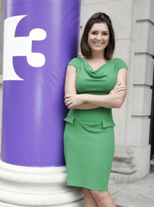 News anchor Colette Fitzpatrick