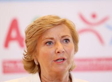 Minister for Children Frances Fitzgerald