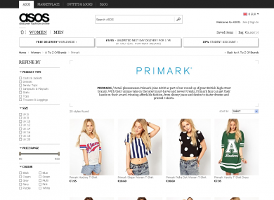 Penneys start selling online in link-up with Asos · TheJournal.ie 2c3929b21f31