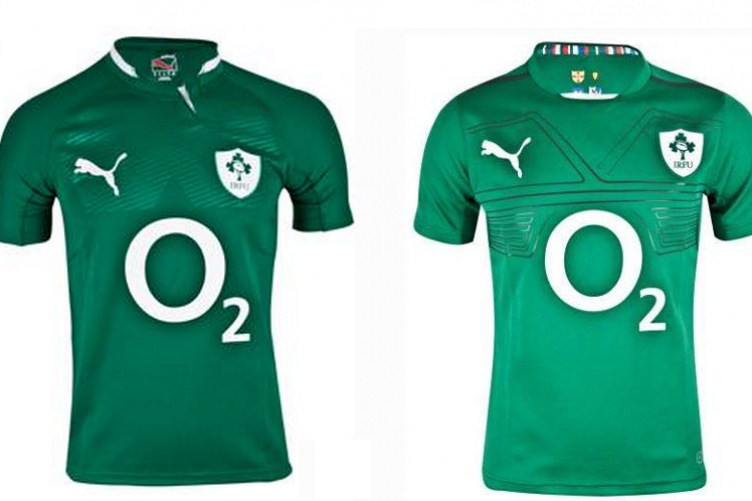 spot the difference this is ireland s new rugby jersey the42