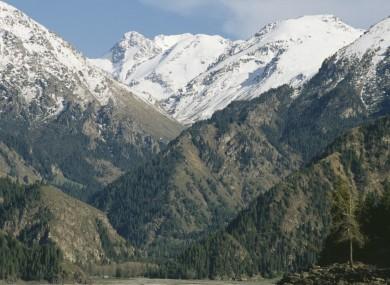 File photo of the area's mountainous landscape