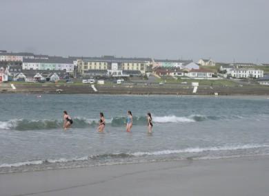 File image of Kilkee Beach, Co Clare.