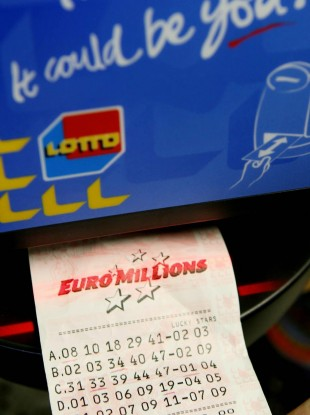 File image of the EuroMillions.