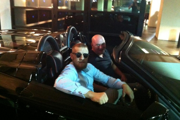 Meeting UFC president Dana White in Vegas has spurred me on' – Conor McGregor